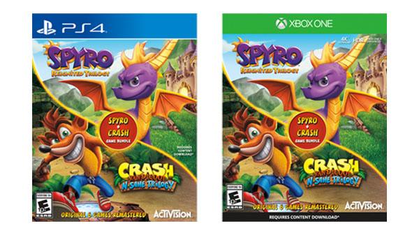 9fb9342866149d Un bundle per Spyro Reignited Trilogy e Crash Bandicoot N. Sane ...
