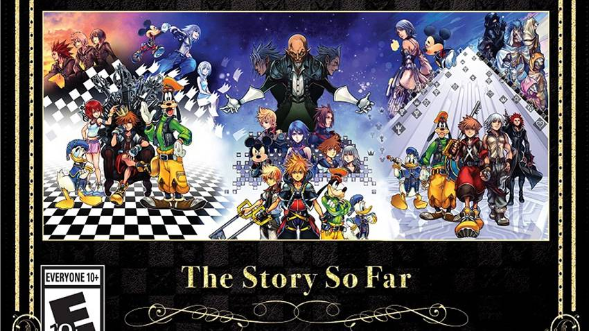 Annunciato Kingdom Hearts - The Story So Far - per Playstation 4