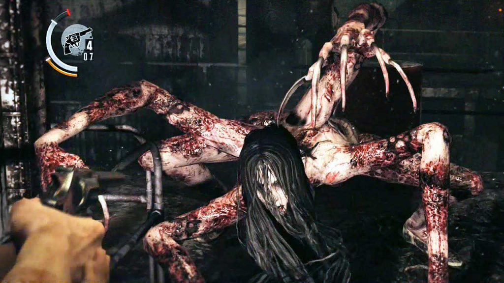the evil within boss laura donna ragno