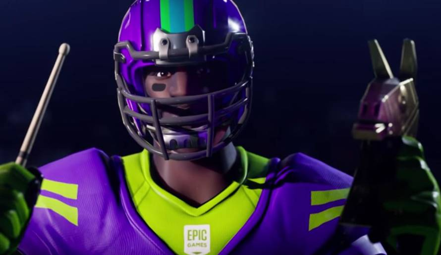 Fortnite: sono disponibili i vestiti a team NFL