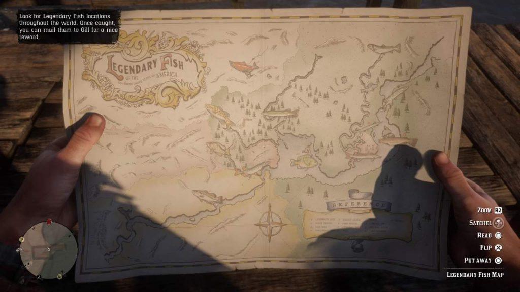 Pesci Leggendari Red Dead Redemption 2