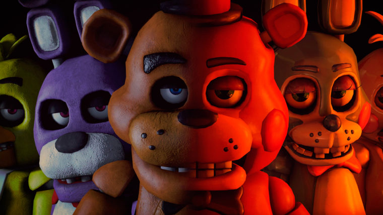 five nights at freddy's console