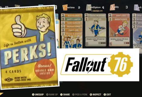 Fallout 76 - Guida completa ai perk