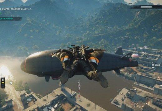 Come distruggere un dirigibile in Just Cause 4
