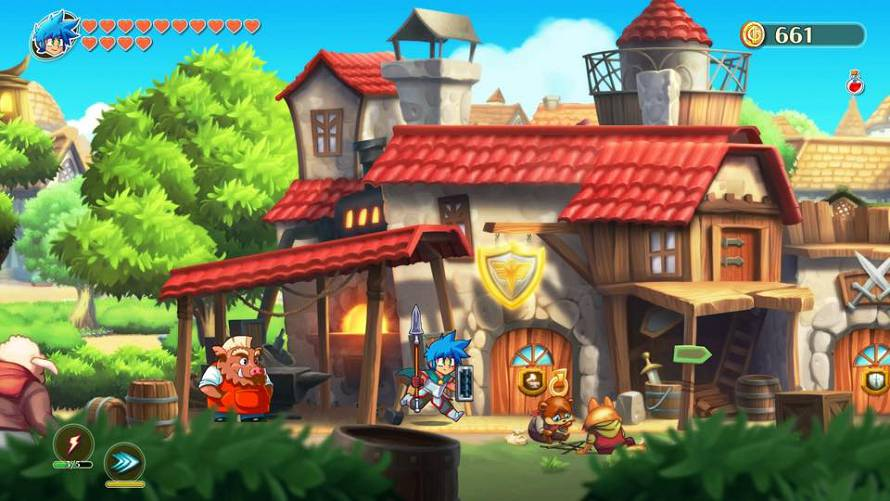 Monster Boy and the Cursed Kingdom: come preparare lo stufato di maiale