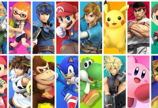 Super Smash Bros: primo in classifica su Switch ad aprile