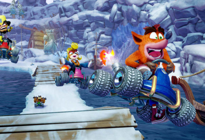 Crash Team Racing Nitro-Fueled: svelata la box art ufficiale