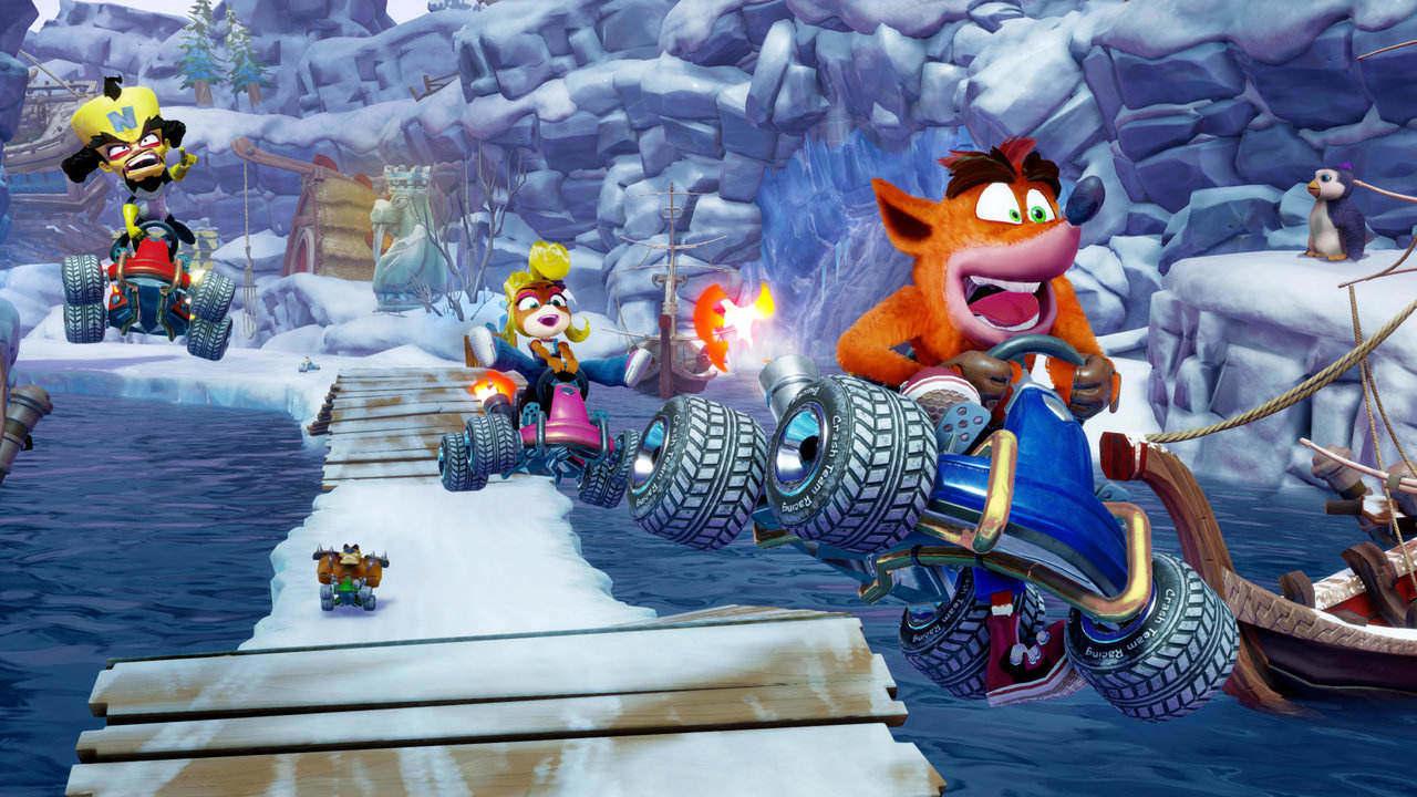 Crash Team Racing Nitro-Fueled sbloccabili