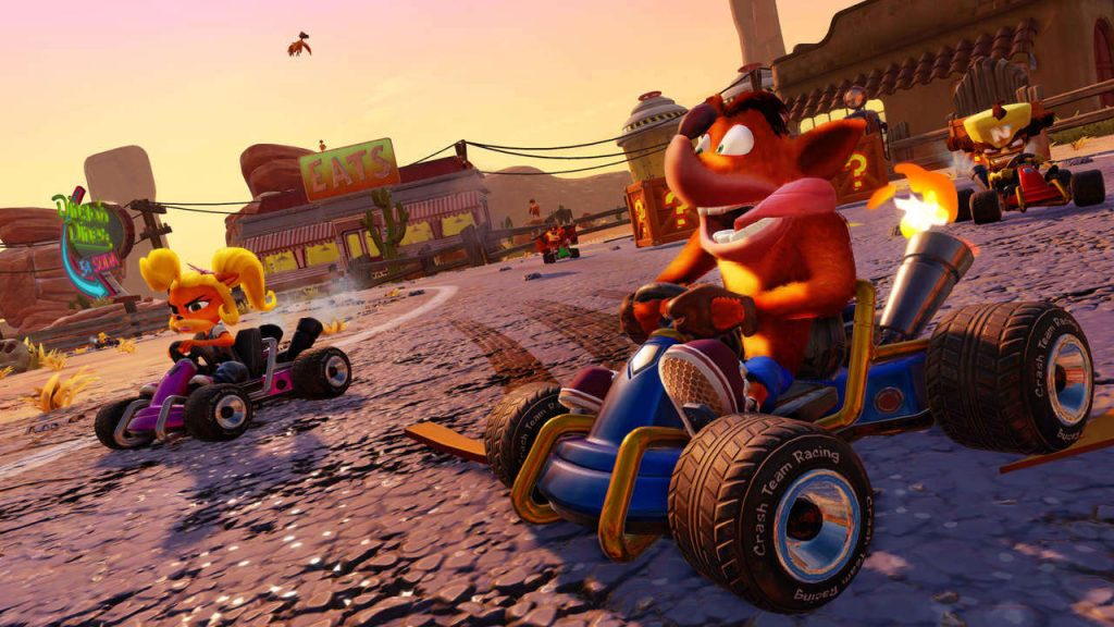 Crash Team Racing immagini