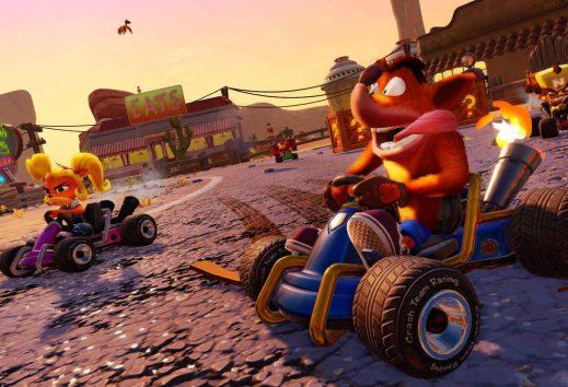 Crash Team Racing gratis su Nintendo Switch