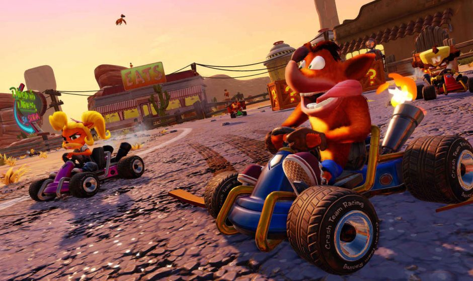 Crash Team Racing, rivelata la box art del gioco