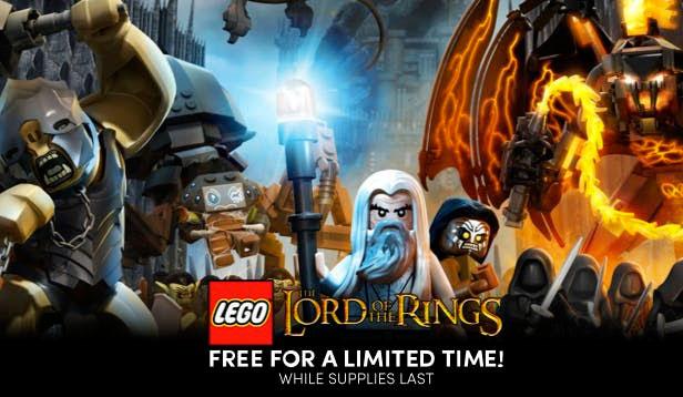 LEGO Il Signore degli Anelli gratis su Humble Bundle