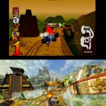 Crash Team Racing Comparison