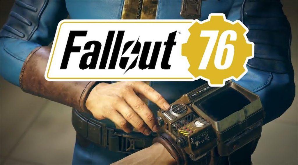 E3 2019 Bethesda Fallout 76
