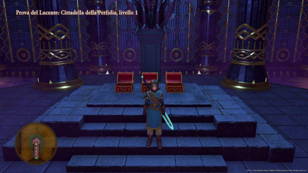 Dragon Quest Xi Armatura del lucente
