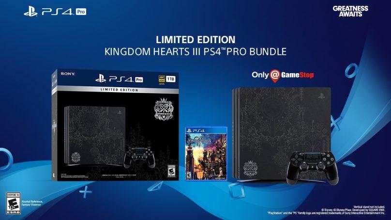 Kingdom Hearts 3: annunciato il bundle PS4 PRO