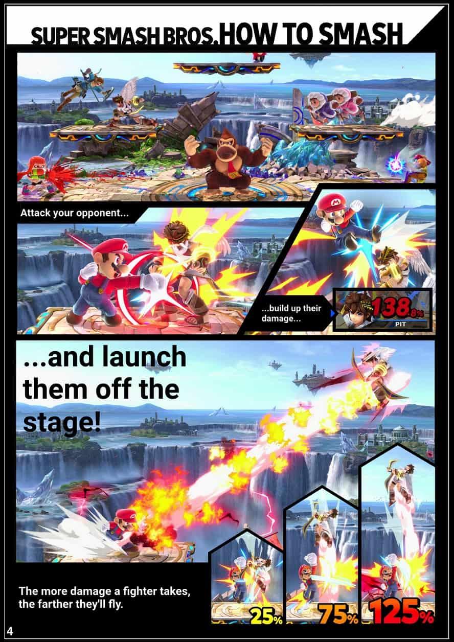 Super Smash Bros. Ultimate: fan crea il libretto delle istruzioni