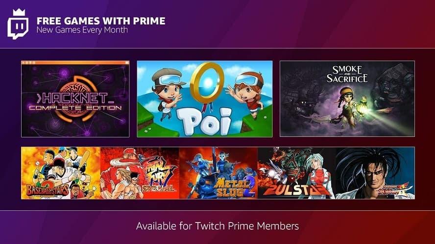 Twich Prime: i giochi gratuiti di Dicembre