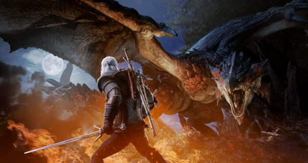 Monster Hunter World collaborazione The Witcher 3