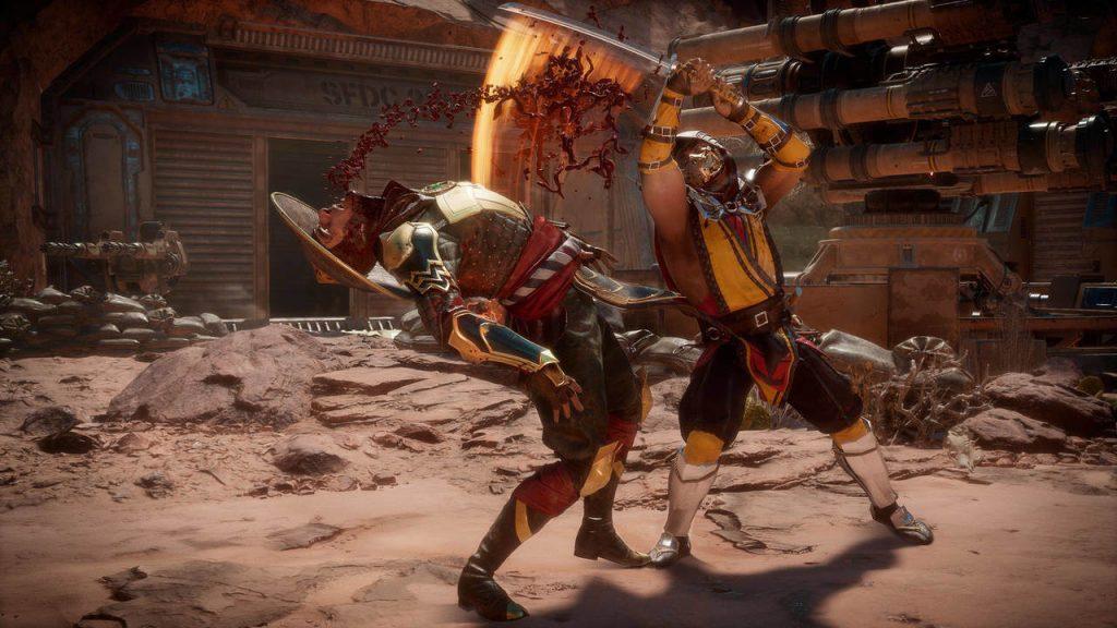 Mortal Kombat 11 lancio