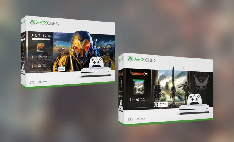 Xbox One S Anthem The Division 2