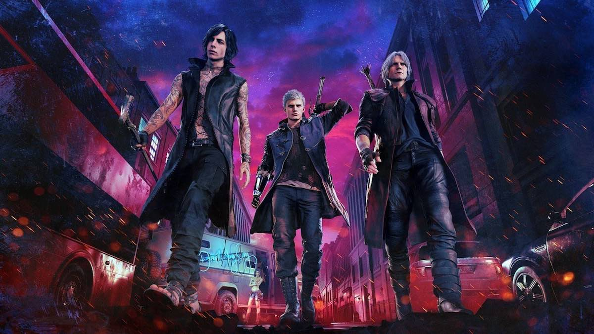 Devil May Cry 5 personaggio GOTY 2019