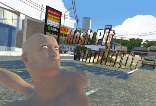 Mosh Pit Simulator, il gioco meno metal di sempre, è finalmente disponibile