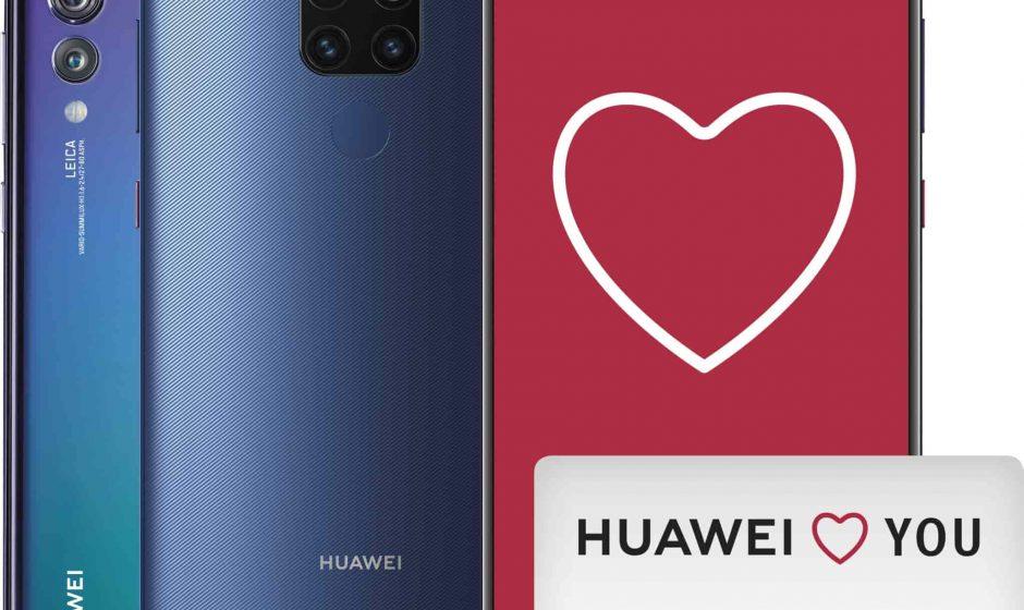 Huawei: rimborso di 100€ acquistando MATE20 o P20 PRO