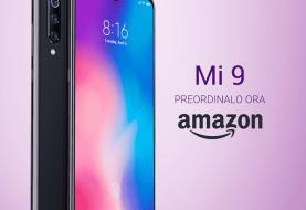 Xiaomi Mi9: in preorder su Amazon Italia