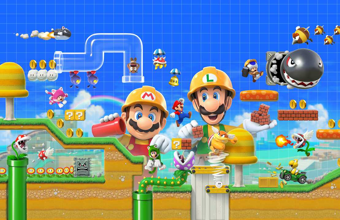 Super Mario Maker 2 multiplayer