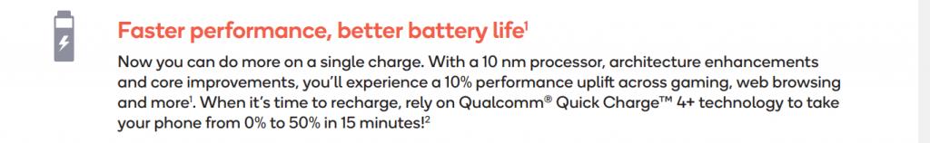 Battery snapdragon 712