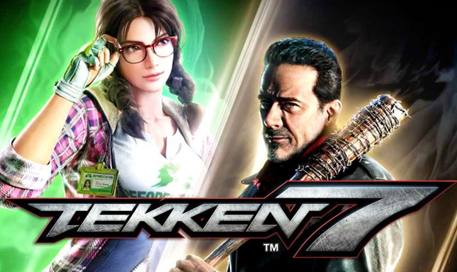 Tekken 7, Julia e Negan si mostrano in video