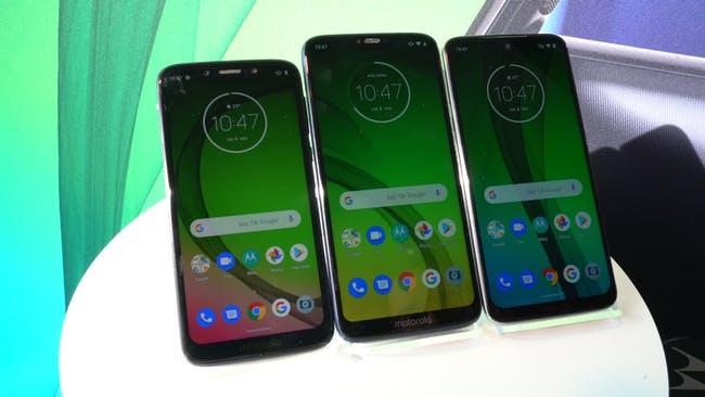 Novità motorola: presentati i nuovi Moto G7 per il 2019