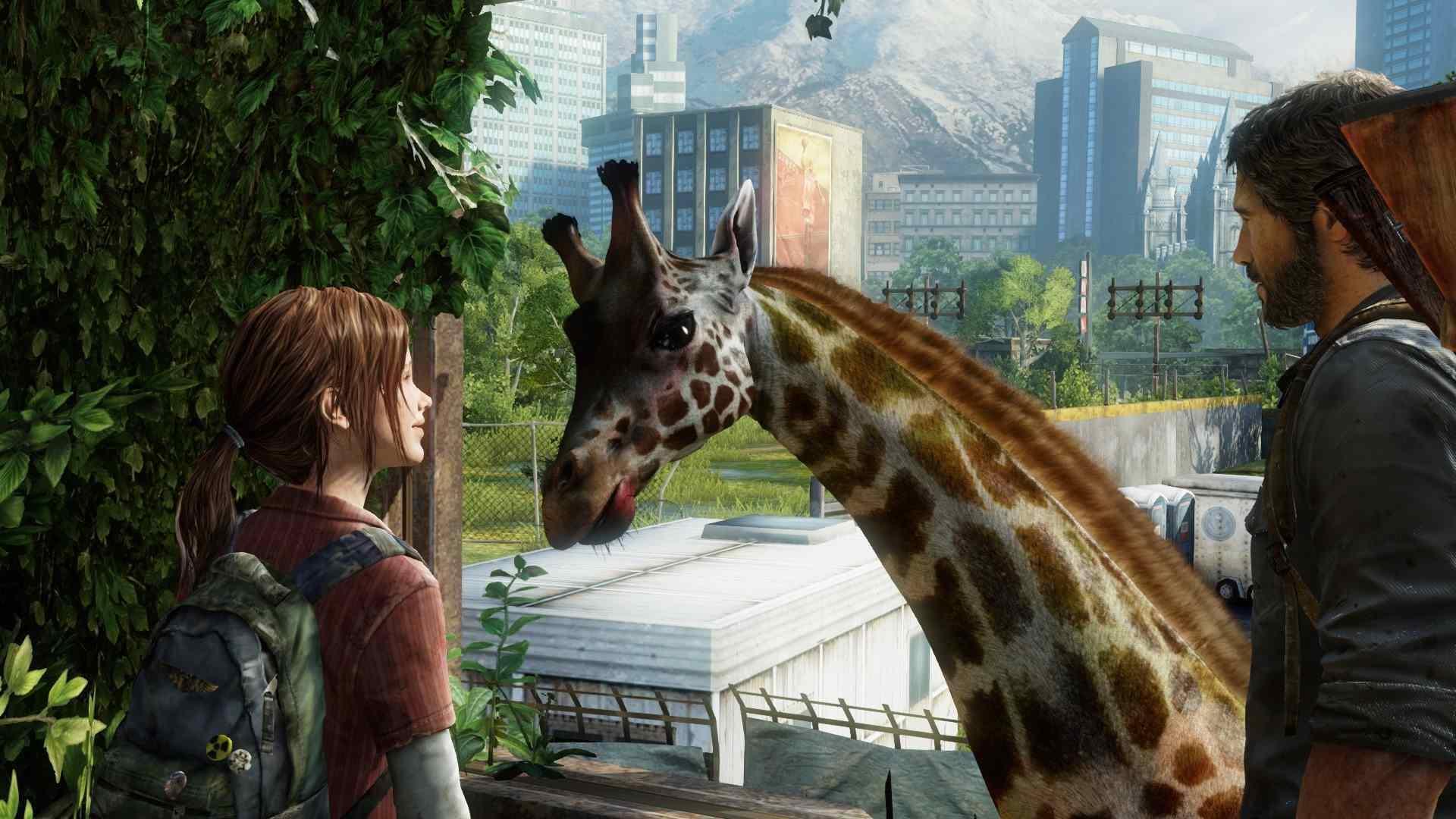 The Last of Us giraffa