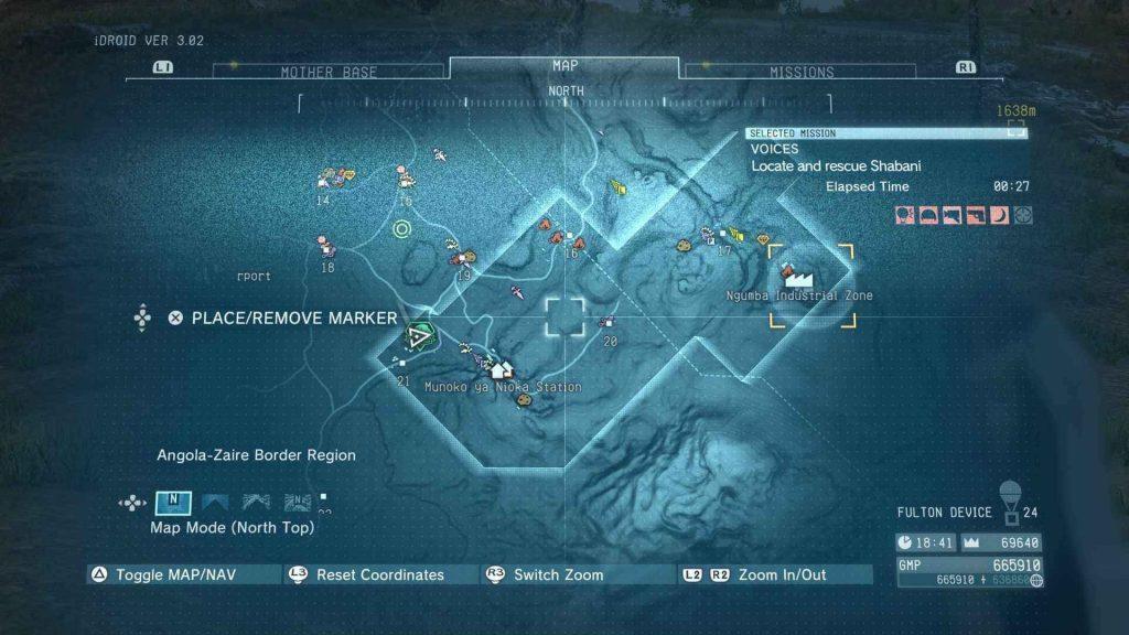 Metal Gear Solid V Voci