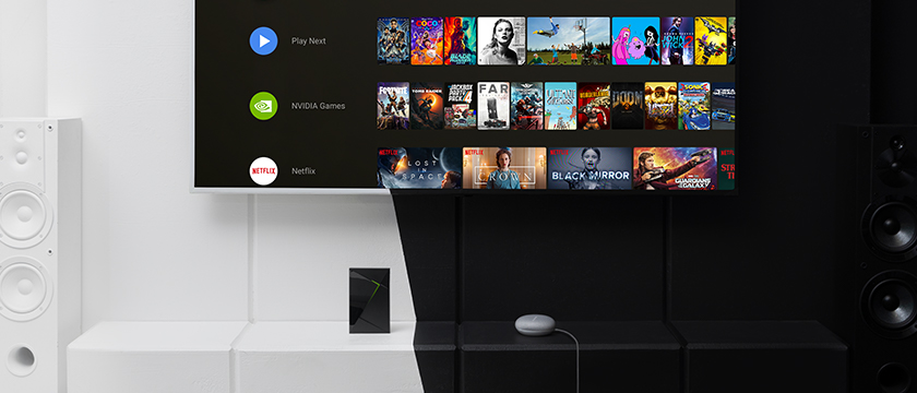 Google Assistant NVIDIA SHIELD TV