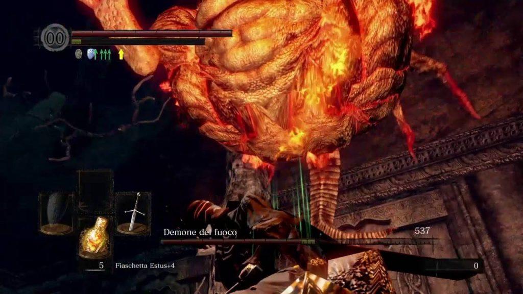 Dark Souls Demone del Fuoco