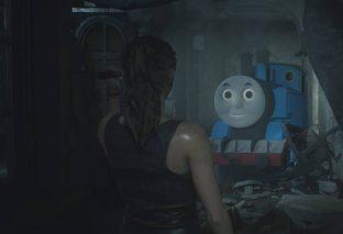 Resident Evil 2: mod sostituisce Mr. X con Thomas il trenino