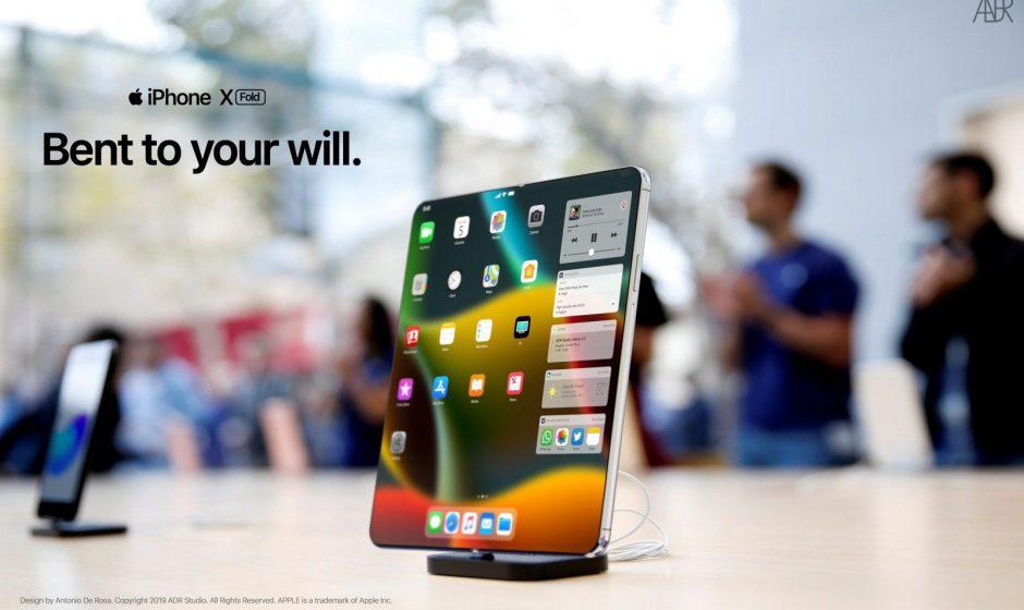 Sarà così il nuovo iPhone pieghevole?
