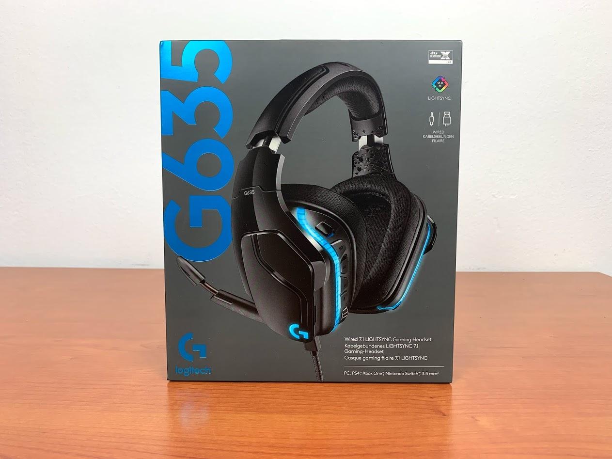 Logitech G635 Headset recensione