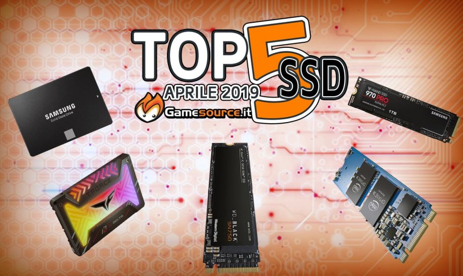 TOP 5 SSD Aprile 2019