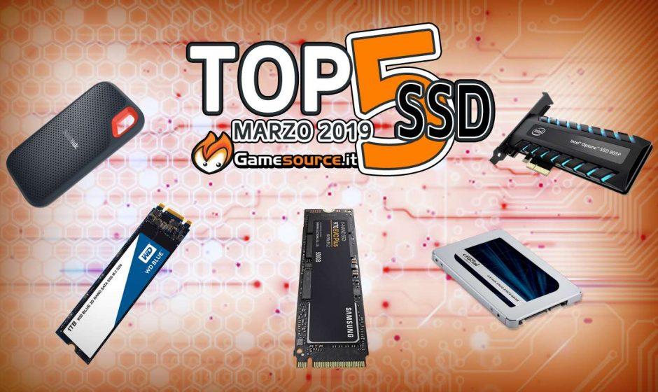 Top 5 SSD Marzo 2019