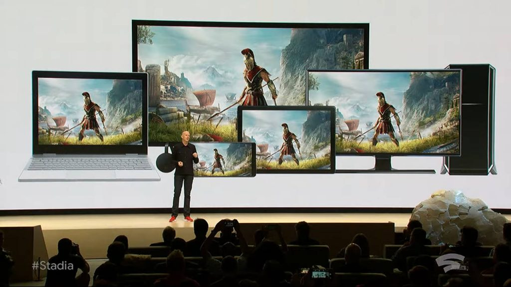 Google Stadia line-up day one