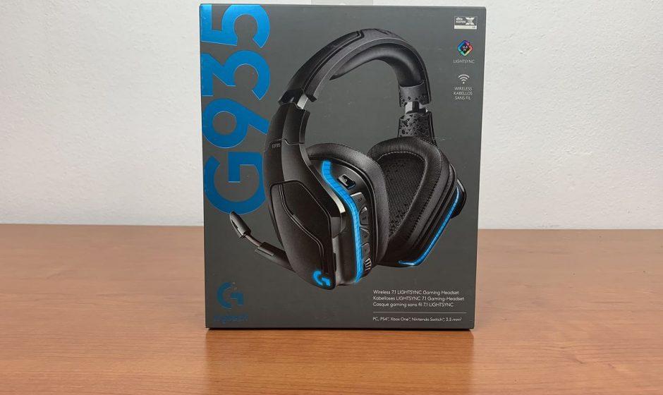 Logitech G935 Wireless Headset - Recensione