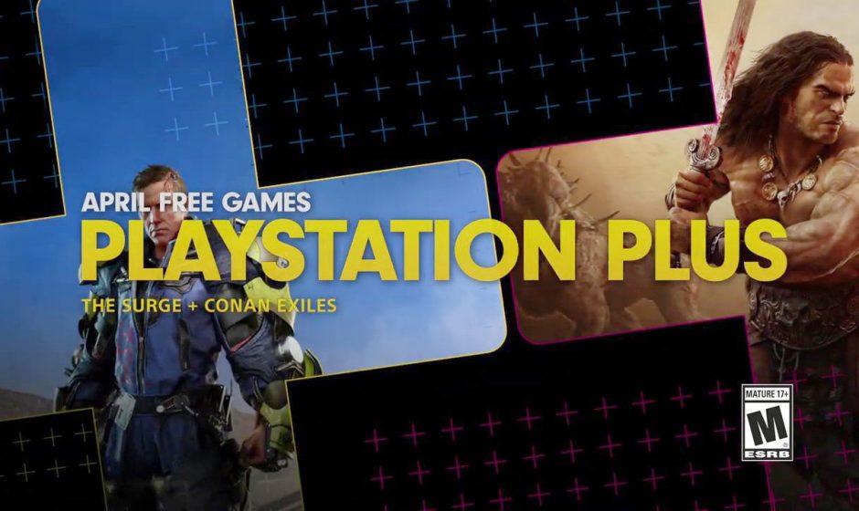 PlayStation Plus: annunciati i giochi PS4 gratis di aprile