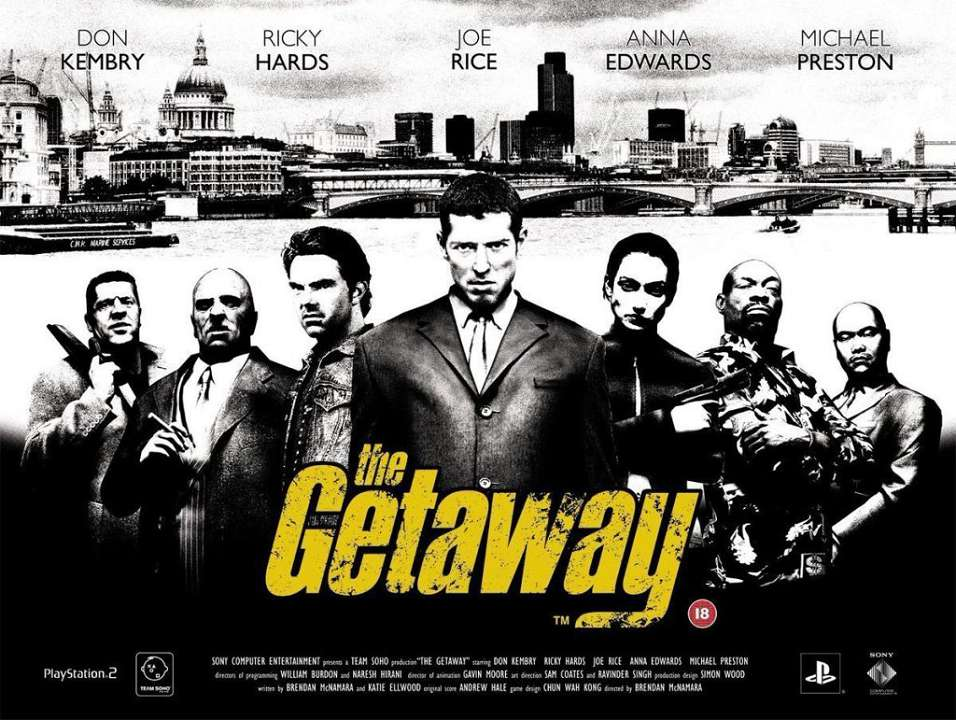 Sony London Studio assunzioni The Getaway