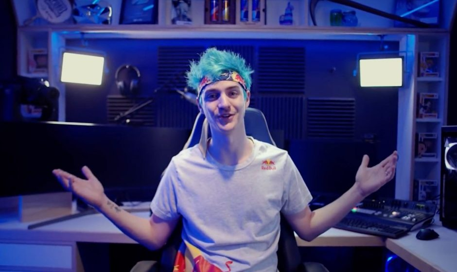 L'addio di Ninja a Twitch: ci pensa Super Mario