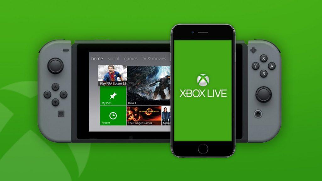 Nintendo Switch Xbox Live