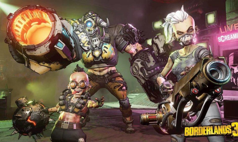 Borderlands 3: sfugge un primo video di gameplay!