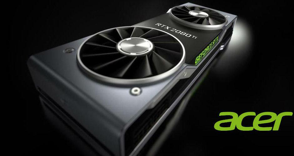 ACER - Nvidia serie 16xx su notebook selezionati